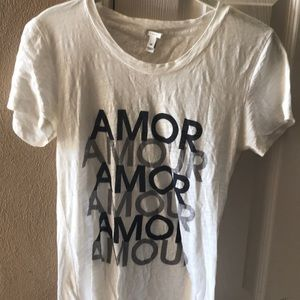Jcrew Amour collector tee
